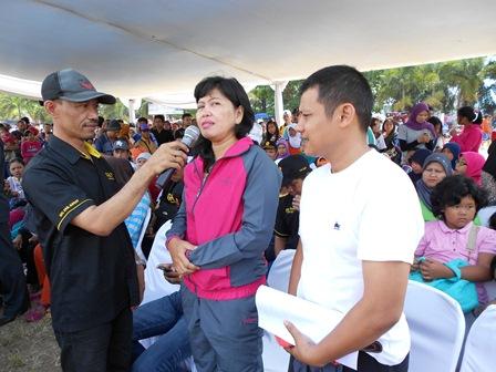 AKBP Widayati Menjawab Setiap Pertanyaan Wartawan, Seputar Upaya P4GN. (Foto: John).