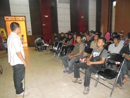 Syam Sumaryana, SH, MH Advokasi Kalangan Underground. (Foto: John).