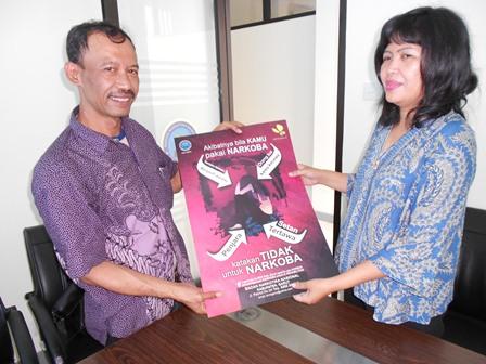 """AKBP Widayati, BA Jalin Keterpaduan dengan Jajaran """"GRANAT"""" Garut. (Foto: John)."""