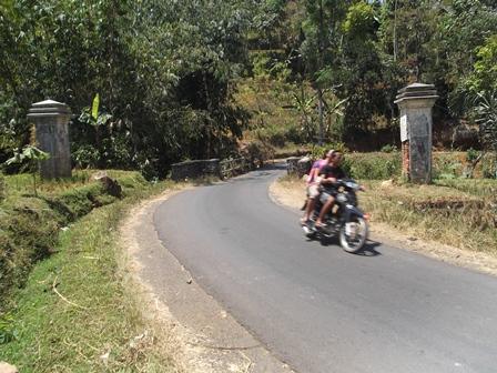 Lintasan Selaawi - Cibugeul. (Foto : John).