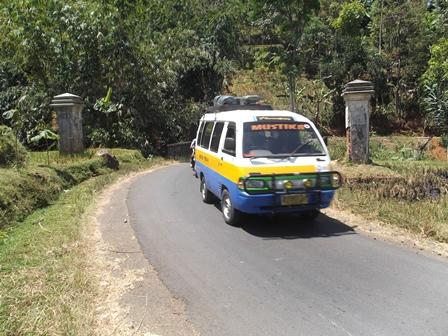 Tapal Batas Kabupaten Garut, dengan Sumedang. (Foto : John).