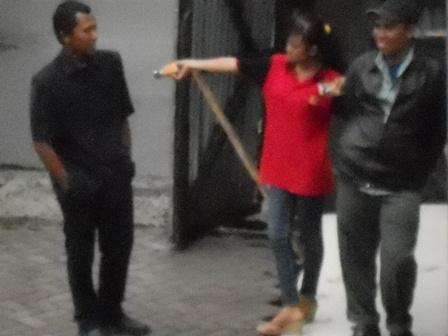 Aksi SPG di Garut.