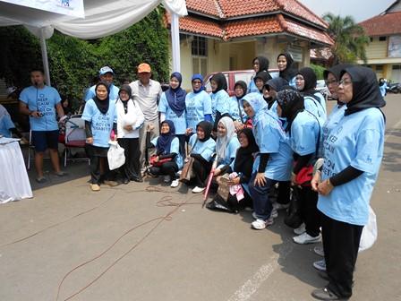 Ilustrasi, Soliditas Penderita Diabetes Berolahraga Bersama dengan Kalangan Dokter di Garut. (Foto: John).