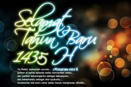 Tahun Baru Hijriah 1435. (Ist).