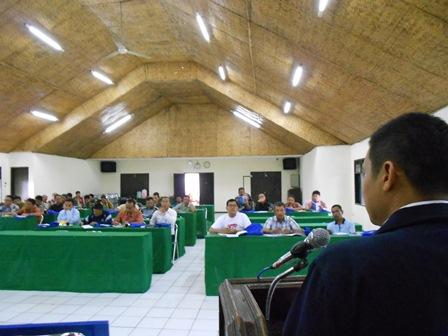 Syam Sumaryana, SH, MH Mewakili Kepala BNNK Garut. (Foto: John).
