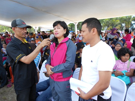 Ilustrasi Kepala BNNK Garut, AKBP Widayati, Gencar Mewujudkan Komunitas Masyarakat Peduli P4GN. (Foto: John).