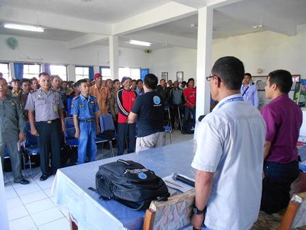 Advokasi P4GN Diawali Kumandang Lagu Indonesia Raya. (Foto: John).