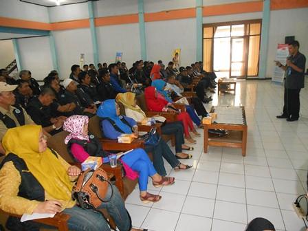 Ilustrasi, Advokasi P4GN di Lingkungan Aparatur Desa Diselenggarakan Jajaran Seksi Pencegahan BNNK Garut, Kamis (19/12). Foto: John.