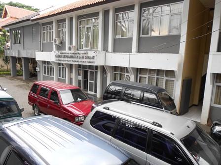 Inilah Kantor BKD Kabupaten Garut. (Foto: John).