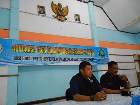 Darmawan, SE bersama Syam Sumaryana Sajikan Penguatan P4GN. (Foto: John).