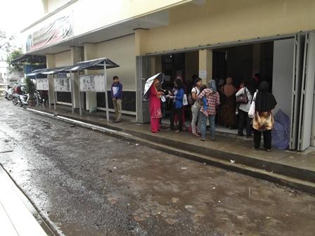 Sarana Jasa Layanan Disdukcapil Kabupaten Garut. (Foto: John).