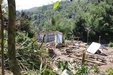 Ilustrasi, Bencana Longsor di Cisewu, Garut, Jabar, Terparah 2013. (Foto: John).