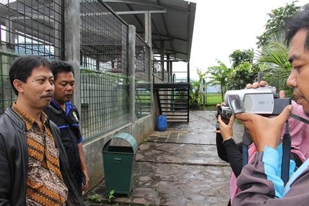 Rudy Arifin, SE Sampaikan Keterangan Pers, Selasa (31/12).