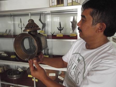 Ilustrasi, Lampu Delman Mengoleksi Museum Disbudpar Kabupaten Garut. (Foto: John).