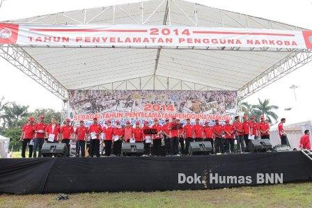 Foto : Humas dan Dokumentasi BNN.