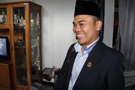 Ketua Partai Gerindra Kabupaten Garut, Hilman Yudaswara, SH. (Foto: John Doddy Hidayat).