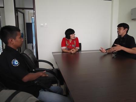 Kepala BNN Kabupaten Garut, AKBP Widayati, Apresiasi Jalinan Kemiteraan Ditawarkan Kalangan Pecinta Alam. (Foto: John Doddy Hidayat).