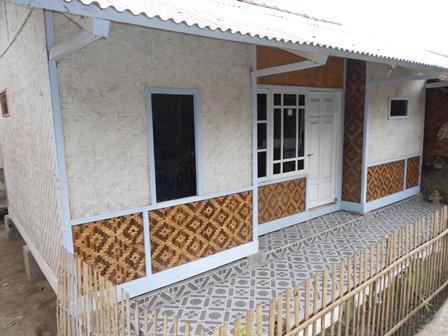 Rumah di Kampung Rancabango.