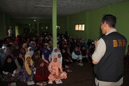 Darmawan, SE Sajikan Penguatan P4GN, Rabu (01/01-2014).
