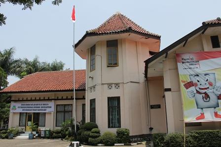 Kantor Kecamatan Garut Kota. ( Foto: John Doddy Hidayat).