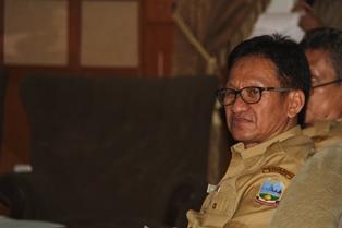 Kepala Bappeda Garut, Widiyana. (Foto: John Doddy Hidayat).
