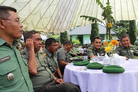 Juga Dihadiri Para Pejabat Maupun Perwira Jajaran Korem 062/TN. (Foto: John DH).
