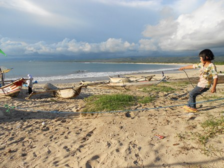 "Ilustrasi. Potensi Laut Garut Umumnya Masih ""Idle"". (Foto: John Doddy Hidayat)."