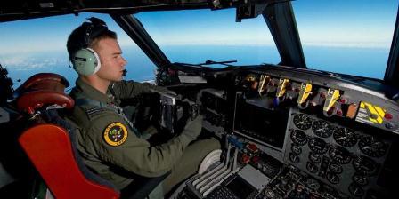 Getty Images Kapetn Russel Adams, pilot AP-3C Orion milik Angkatan Udara Australia dalam pencarian Malaysia Airlines MH370. (Getty Images).