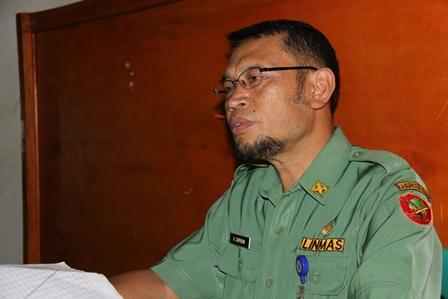 H. Saprudin, Pengelola TB Paru di Lingkungan Kerja Puskesmas DTP Tarogong, Concern Wujudkan Kualitas Kesehatan Masyarakat. (Foto: John Doddy Hidayat).