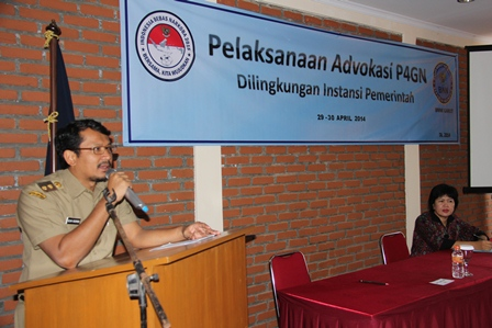 Wabup Membuka Pelaksanaan Advokasi P4GN.