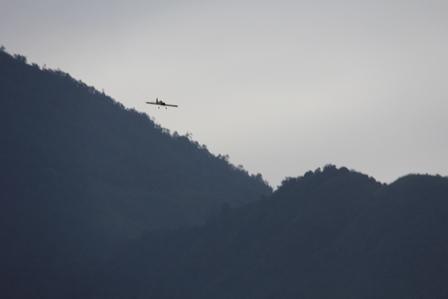 Di antara Gunungapi Guntur, dan Gunung Putri, Garut, Jabar. (Foto : John Doddy Hidayat).
