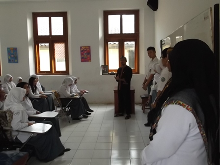 Wabup Helmi Budiman Tingkatkan Motivasi Kalangan Pelajar Beserta Guru.