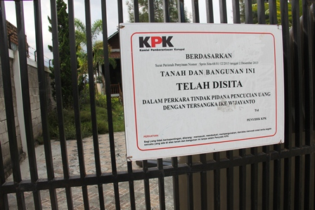 Ilustrasi. Sebuah Vila di Kampung Panawuan, Tarogong Kidul, Garut, Jabar, Disita KPK. (Foto: John Doddy Hidayat).