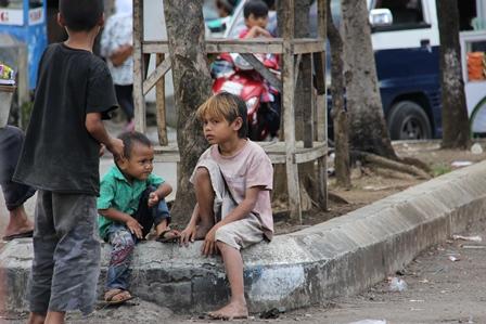Ilustrasi. Anak-anak Siapapun Patut Dilindungi. (Foto: John Doddy Hidayat).
