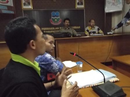 Ketua Forum TKK 2015, Hery Mulyana, Jum'at (23/05-2014) sore, Kembali Menanyakan Kelanjutan Nasib TKK 2015.