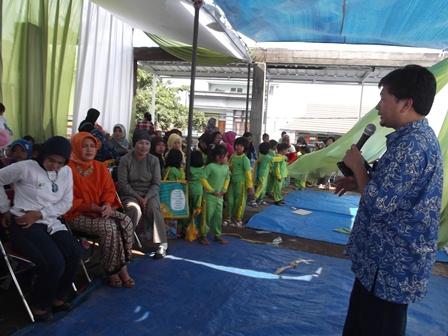 Ruli Oktavian, ST Presentasikan Visi dan Misi Klinik Kesehatan Yasifa'.