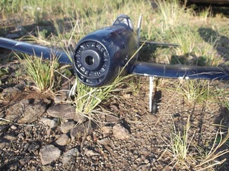 """Miniatur Milik Penggemar """"aeromodeling"""". (Foto : John Doddy Hidayat)."""