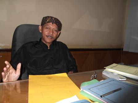 Kepala BKD Garut.