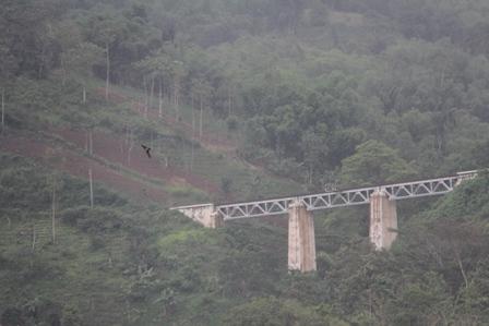 Sedangkan Jembatan KA di Kadungora/Lebak Jero Masih Berfungsi/Digunakan.
