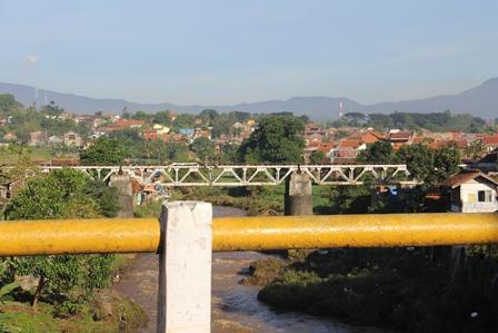 Pada Lokasi Leuwidaun, Garut.