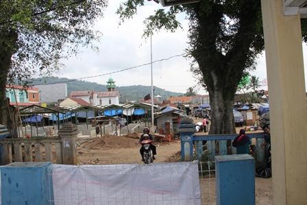 Pembangunan di Alun-Alun Malangbong, Bermasalah.