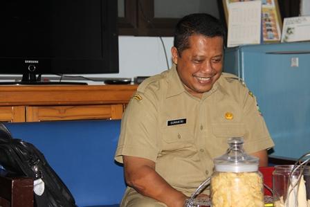 Kabid Dikmen Disdik Garut, H. Sumantri. (Foto : John Doddy Hidayat).