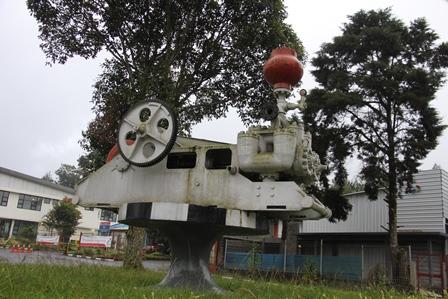Ilustrasi. Piranti Proses Pengeboran Geothermal (Panasbumi). Foto : John Doddy Hidayat.