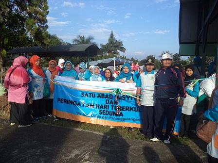 Semarak Peringatan TB Paru Se Dunia di Garut, Jawa Barat.