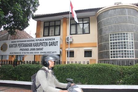 Kantor BPN Garut. (Foto : John Doddy Hidayat).