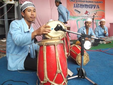 Kegiatan Ikatan Remaja Masjid (IRM) Miftahul Faizin.