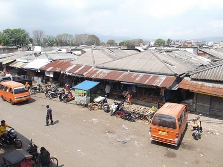 Pasar Ciawitali Guntur, Garut.