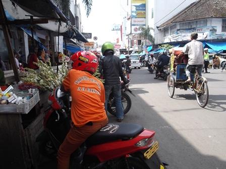 Titik Lokasi Kemacetan Pusat Kota Garut/ Pengkolan. (Foto : John DH).