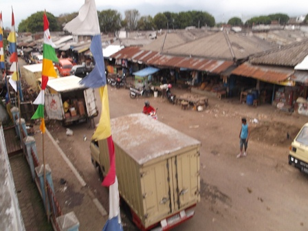 Salah Satu Sudut Komplek Pasar Ciawitali Guntur, Garut.