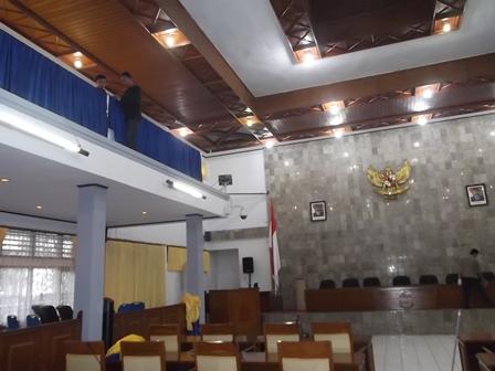 Sebanyak 50 Anggota DPRD Garut (2014-2019) Diagendakan Dilantik, Rabu (13/08-2014).